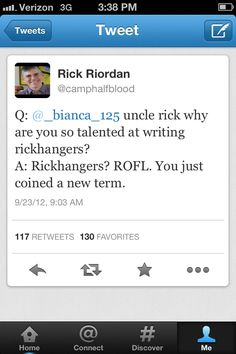 Rickhangers? (rainbow organic foods and lifestyles) you just coined a new term... Rick needs to get his acronyms right!