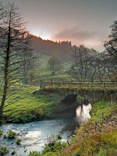Dawn at Arlington Court, Barnstaple, North #Devon, England