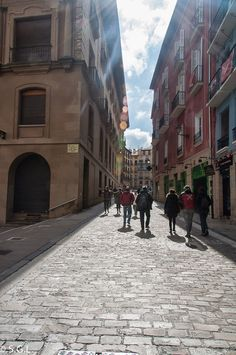 Calle Santo Domingo de Pamplona