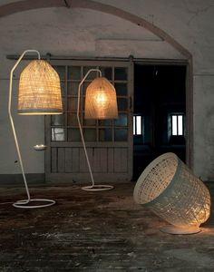 luminaire de jardin BLACKOUT par KARMAN - lampes à poser en résine et métal
