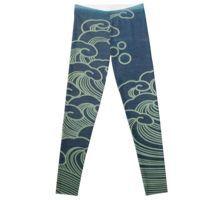 'Ocean Wave' by Maggiedolly Soft Waves, Wave Design, Ocean Waves, Pattern Design, Leggings, Loose Waves, Beach Waves