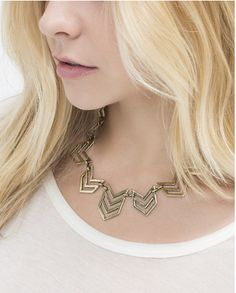 Chevron Valley Necklace from Jewelmint