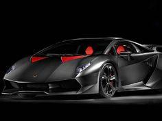 Frente da Lamborghini Sesto Elemento