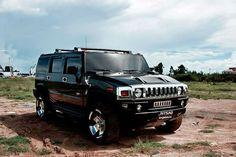 2014 Hummer H2 Black
