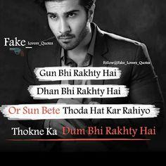 Attitude Quotes For Boys, Girl Attitude, Attitude Status, Bad Words Quotes, Boy Quotes, Hindi Quotes, Islamic Quotes, Qoutes, Attitude Shayari