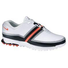 Amazon.com: Nike Air Brassie Women's Golf Shoe (White/Smoke-Met Zinc): Shoes
