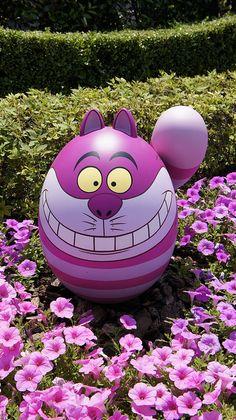 Easter view in Tokyo Disneyland by Dloves.funi2, via Flickr