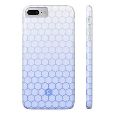 Perrywinkle Blue Honeycomb Phone Case