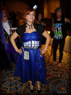 Tardis Doctor Who Dress