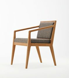 Morgan Oslo Chairs 121A.  Chairs feature an elegant timber skeleton with simple drop seat and back pads. Modern manufacturing techniques have been used to achieve a hand-crafted look.