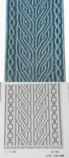 Knitting stitches tutorial cowls Ideas for 2019 Cable Knitting Patterns, Knitting Stiches, Knitting Charts, Lace Knitting, Knit Patterns, Stitch Patterns, Knitting Ideas, Diy Couture, Crochet Stitch