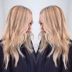 #Hairpaint with Wella Blondor 9% 1:2 for 20 minutes in heat, toned with 30g 10/81+ 10g 8/73 + 5g 8/0 + 4% 10 minutes in wet hairI also used olaplex Nr. 2 for shine and stronger hair  #olaplexnorge #olaplex #balayage #wellaeducation #wellalove #wellalife #wellahair #norway