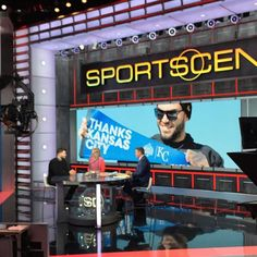 Thank you again everyone at @espn @sportscenter for the hospitality!
