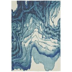 Margaret Blue Area Rug | Havenly