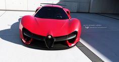 Alfa Romeo Zero by wizzoo7.deviantart.com on @DeviantArt