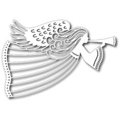 TUTTI DESIGNS - Metal Craft Dies, FLYING ANGEL