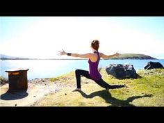 ▶ Yoga Body Workout: Yoga Core Strength for Beginners with Sadie Nardini - YouTube - 16min