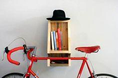 Bika Bike Rack /16 wall mounted multi- purpose indoor bike racks  http://vurni.com/multipurpose-wall-bike-racks/