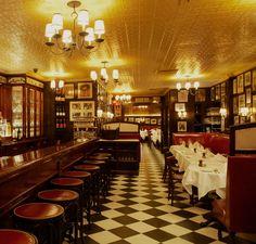 15 Vintage NYC Restaurants, Bars and Cafes: Minetta Tavern (est. 1930s)