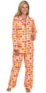 pajamas - cotton, flannel, any color, any pattern.