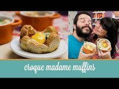 Croque Madame Muffins | Cozinha para 2 - YouTube
