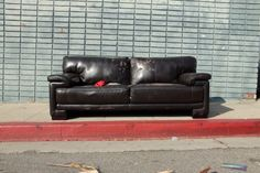 The Sofas of LA. Yucca Street, Hollywood - Los Angeles, CA