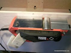 How to make a planer with your electric hand planer