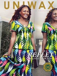 UNIWAX Magazine#18 Wax fashion #Mode Africaine