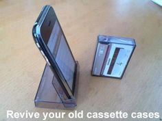 Old Casette Tape as iPhone Holder - Top 68 Lifehacks and Clever Ideas that Will Make Your Life Easier