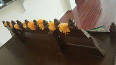 ChroniclesOfAnEternalMind: Homemade Pooja Mandir Wooden Temple For Home, Home Temple, Pooja Mandir, Pooja Room Door Design, Ornamental Mouldings, Ikea Shelves, Pooja Rooms, Room Doors, Handmade Decorations