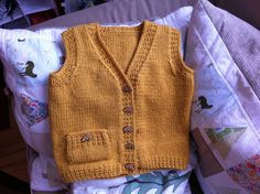 love this little vest. pattern $5