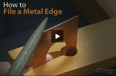 Learn how to file metal correctly!