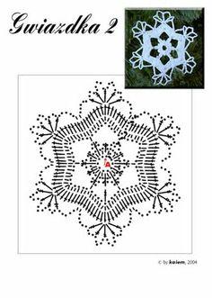 Crochet s lo con paso a paso o video navidad pinterest - Esquema punto estrella crochet ...