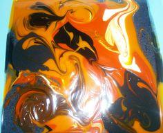 Soap Art - Fluid Technique Artisan, Soap, Colour, Canning, Natural, Fun, Handmade, Inspiration, Ideas