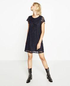画像 1 の ブロンドレースドレス ザラから