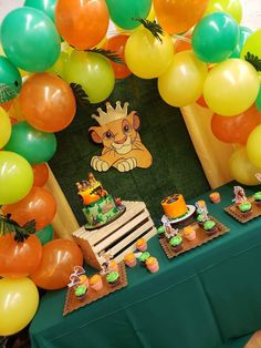 Adult Birthday Party, Birthday Ideas, Lion King Party, Le Roi Lion, Baby Boy Shower, Party Ideas, Food, Anniversary Ideas, Essen
