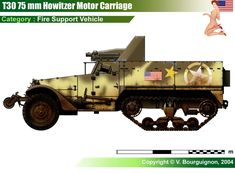 T30 75 mm Howitzer Motor Carriage