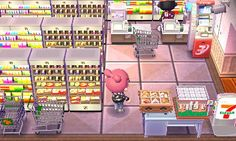 pocky-town: 3 days ago my two patter mules had empty houses. then I decided to decorate them! one of the houses was turned into a mall, the other into a school. here are my 4 favorite rooms: Asian Cuisine Restaurant & 7-11 Shop (from the mall) - Classroom & Infirmary (from the school) DREAM ADDRESS: 4900 - 2348 - 6029