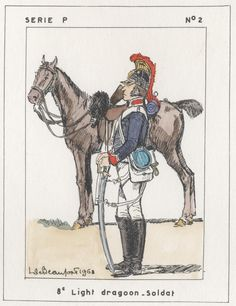 British; 8th Light Dragoons, Trooper, Egypt, 1801