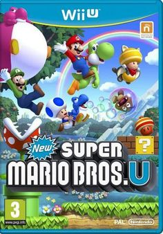Get ready for your biggest race yet in New Super Mario Bros U + New Super Luigi U (Nintendo Wii U) - Nintendo. This game is compatible with Nintendo Wii U consoles. This game is suitable for players of all ages. Super Mario Brothers, Super Luigi, Super Mario Bros Nintendo, New Super Mario Bros, Nintendo Wii U Games, Nintendo News, Wii Games, Nintendo Switch, Music Games