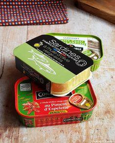 Vous avez des sardines en boite dans votre placard et ne savez pas trop quoi en faire ? Découvrez plein d'idées recettes simples et gourmandes.