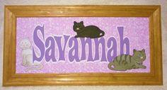 FlamingoCrafts: Savannah Name Frame Savannah Chat, Name Frame, Names