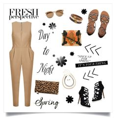 """""""Day to Night!"""" by diane1234 ❤ liked on Polyvore featuring Andrea Marques, Yves Saint Laurent, Carvela Kurt Geiger, Billabong, Chloé, Clare V. and Chico's"""