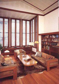 Walter V. Davidson House, Buffalo, NY. 1908. Frank Lloyd Wright.