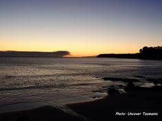Sunrise at Boat Harbour Beach North West Tasmania.