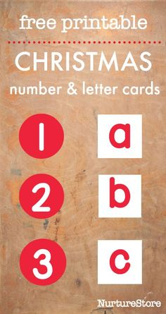 68 best kids school images on pinterest learning school and gym free printable christmas alphabet and printable number cards candy cane math and literacy activities fandeluxe Images