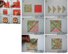Técnicas de patchwork,quilting,origami..77