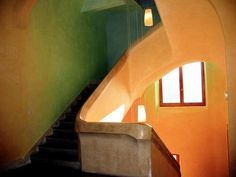 Staircase at Goetheanum