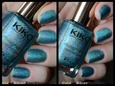Kiko Holographic 401 #beautyblogs # blogs #nails #notd