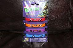 NEW 4 Teenage Mutant Ninja Turtles Birthday Party Bracelets Wristbands FAVORS on eBay! Turtle Birthday Parties, 5th Birthday Party Ideas, Ninja Turtle Birthday, Ninja Turtle Party, Birthday Stuff, Birthday Fun, Ninja Turtles, Mutant Ninja, Teenage Mutant